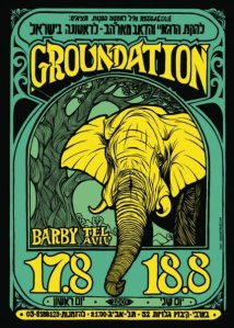 Groundation LIVE in Tel Aviv 17 & 18 August