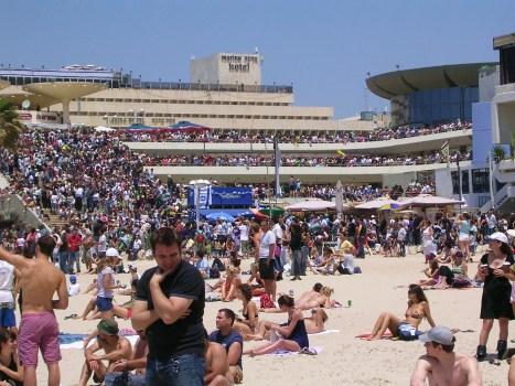 Israel's 60th b'day celebrations Gordon Beach
