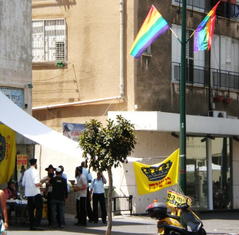 Rainbow & Religion sharing the streets of Tel Aviv- Gay Pride Parade 2008